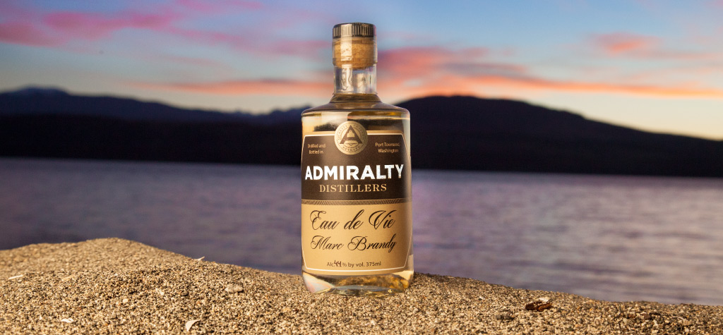 quality spirits, made with local ingredients, and water from the Olympic Mountains